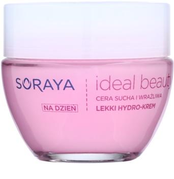 Soraya Ideal Beauty crema hidratante ligera  para pieles secas y sensibles