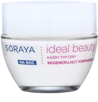 Soraya Ideal Beauty creme de noite regenerador  para todos os tipos de pele