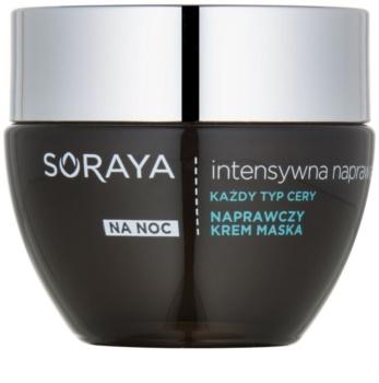Soraya Intensive Repair regenerujący krem-maska na noc