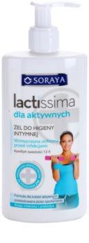 Soraya Lactissima gel para higiene íntima de mulheres ativas