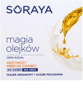 Soraya Magic Oils nährende Creme für trockene Haut