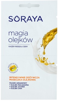 Soraya Magic Oils máscara facial de oleo  com efeito nutritivo