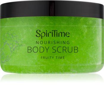 SpiriTime Fruity Time hranilni piling za telo