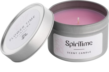SpiriTime Flower Time illatos gyertya    alumínium dobozban