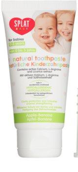 Splat Baby pasta de dientes natural para niños con cepillo de masaje