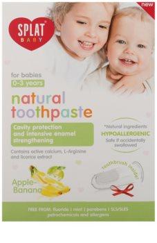 Splat Baby Naturzahnpasta für Kinder mit Massagebürste