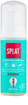 Splat 2 in 1 Mint espuma bucal 2 en 1 para lavarse los dientes y las encías sin cepillo y agua