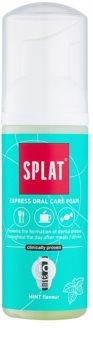Splat 2 in 1 Mint Schaum zur Mundhygiene 2 in 1 zum Reinigen von Zähnen und Zahnfleisch ohne Zahnbürste und Wasser