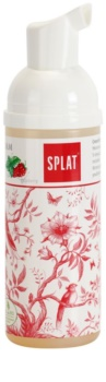 Splat 2 in 1 Raspberry 2in1 Cleansing Mouth Foam for Teeth and Gums