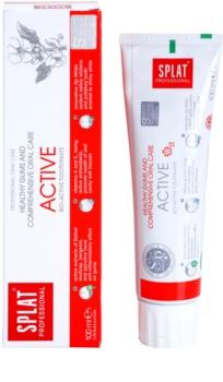 Splat Professional Active Bio-Aktiv Zahnpasta für gesundes Zahnfleisch und eine komplexe Kieferpflege