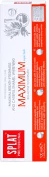 Splat Professional Maximum Bio-Aktiv Zahnpasta für maximal frischen Atem und schonendes Bleichen des Zahnschmelzes