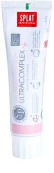 Splat Professional Ultracomplex dentífrico bio-ativo para cuidado integral e branqueamento de dentes sensíveis