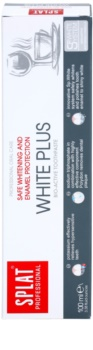 Splat Professional White Plus Bio-Active Toothpaste for Gentle Teeth Whitening and Enamel Protection