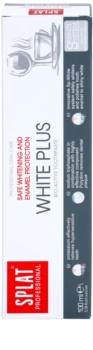 Splat Professional White Plus bioaktívna zubná pasta pre šetrné bielenie a ochranu zubnej skloviny