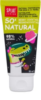 Splat Junior So' Natural pasta de dientes para niños de 6 a 11 años