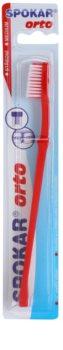 Spokar Orto szczoteczka do zębów dla użytkowników aparatów ortodontycznych medium