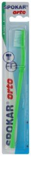 Spokar Orto cepillo de dientes para usuarios de ortodoncia fija duro
