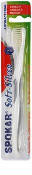 Spokar Soft-Silver cepillo de dientes medio