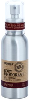 Sportique Wellness Lavender Desodorizante em spray sem amoniaco