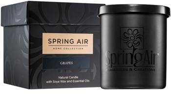 Spring Air Home Collection Grapes Scented Candle 235 ml