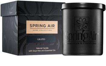 Spring Air Home Collection Grapes vonná svíčka 235 ml