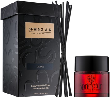 Spring Air Home Collection Grapes Aroma Diffuser mit Nachfüllung 100 ml