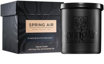 Spring Air Home Collection Pomegranate Delight vonná sviečka 235 ml