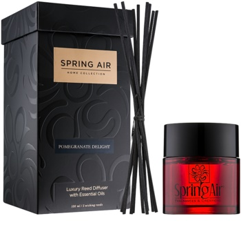 Spring Air Home Collection Pomegranate Delight Aroma Diffuser mit Nachfüllung 100 ml