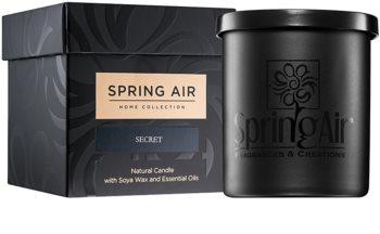 Spring Air Home Collection Secret lumânare parfumată  235 ml