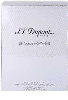 S.T. Dupont 58 Avenue Montaigne Eau de Toilette for Men 100 ml