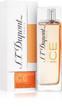 S.T. Dupont Essence Pure Ice Pour Femme Eau de Toilette voor Vrouwen  100 ml