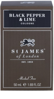 St. James Of London Black Pepper & Persian Lime kolinská voda pre mužov 50 ml