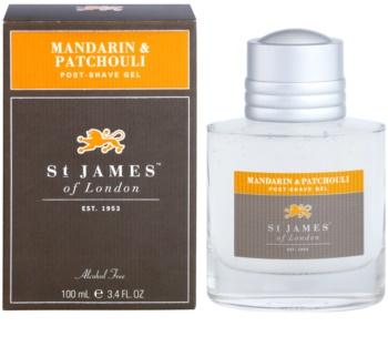 St. James Of London Mandarin & Patchouli After Shave Gel for Men 100 ml