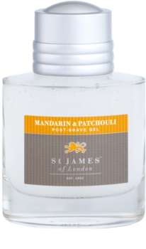 St. James Of London Mandarin & Patchouli gel post-rasatura per uomo 100 ml