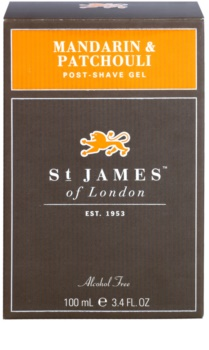 St. James Of London Mandarin & Patchouli borotválkozás utáni gél férfiaknak 100 ml