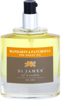 St. James Of London Mandarin & Patchouli olje za britje za moške 50 ml