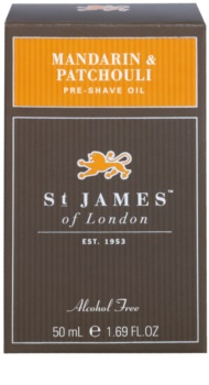 St. James Of London Mandarin & Patchouli Shaving Oil for Men 50 ml