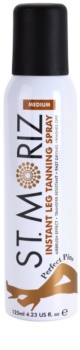 St. Moriz Instant Self-Tanning Spray for Perfect Legs