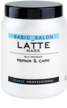 Stapiz Basic Salon Latte maska s mliečnymi proteínmi