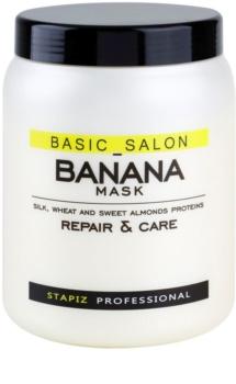 Stapiz Basic Salon Banana obnovujúca maska pre poškodené vlasy