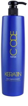 Stapiz Keratin Code masque rénovateur pour cheveux secs et abîmés