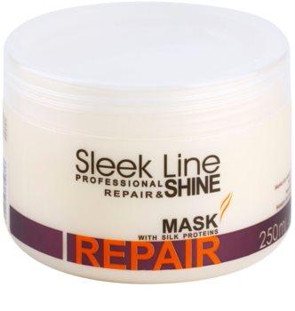 Stapiz Sleek Line Repair mascarilla reparación para cabello dañado, químicamente tratado