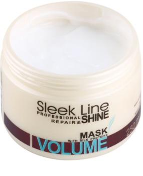 Stapiz Sleek Line Volume hydratačná maska  pre jemné vlasy bez objemu