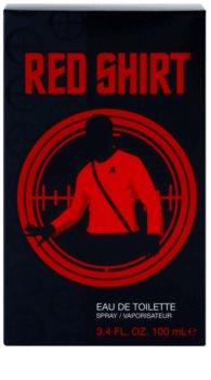Star Trek Red Shirt eau de toilette per uomo 100 ml