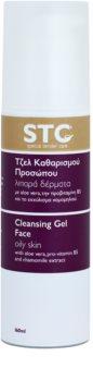 STC Face gel de limpeza para pele oleosa