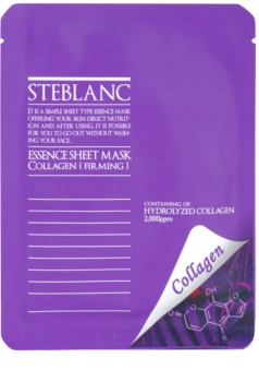 Steblanc Essence Sheet Mask Collagen mascarilla para tensar la piel