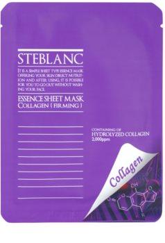 Steblanc Essence Sheet Mask Collagen maseczka  napinający skórę