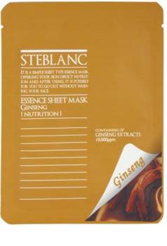 Steblanc Essence Sheet Mask Ginseng Nourishing and Recovering Face Mask