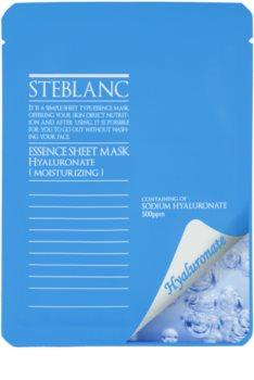Steblanc Essence Sheet Mask Hyaluronate máscara para hidratação intensiva de pele