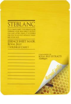 Steblanc Essence Sheet Mask Royal Jelly Gesichtsmaske gegen Falten